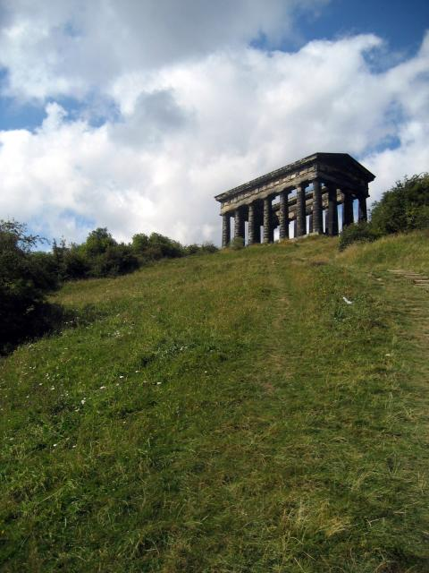 Penshaw Hill is also the location of an Iron Age Hill Fort.
