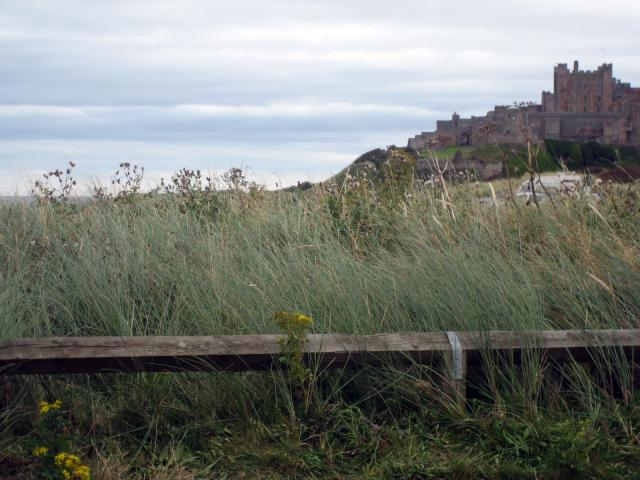 The castle is a major landmark on the Northumberland coast. At one time it was ransacked by the vikings.