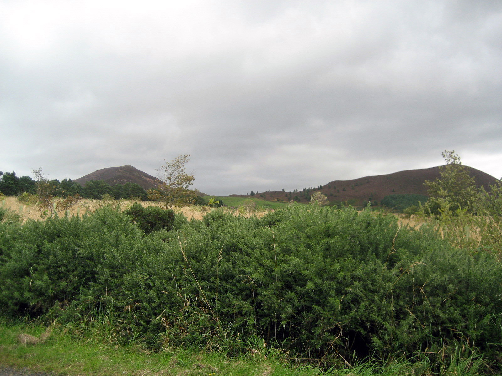 Eildon Hill is often called the Eildon Hills because it has three peaks.