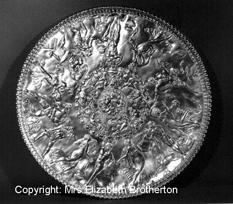 This is one of the finest examples of late Roman silver ever to have been found and it is probably the most famous.  