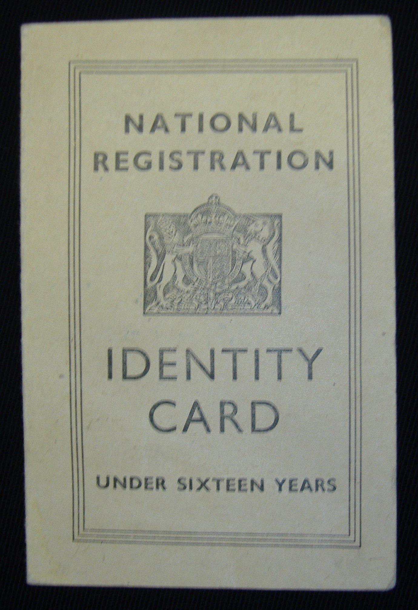 Child\'s Identity Card: NEN Gallery