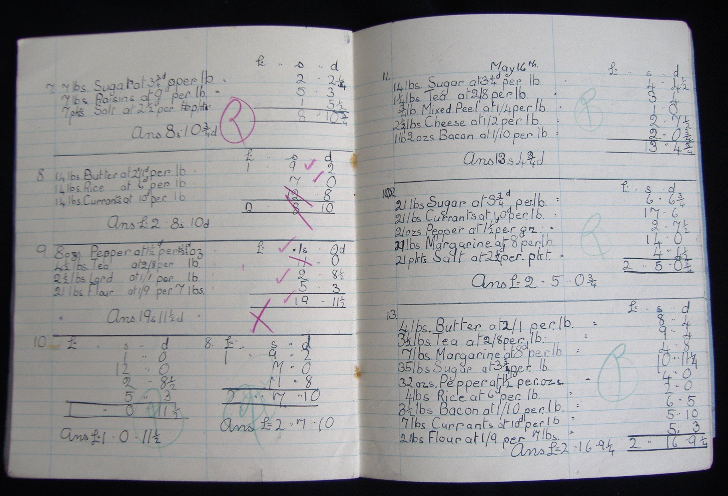 Mathematics Exercise Book: NEN Gallery
