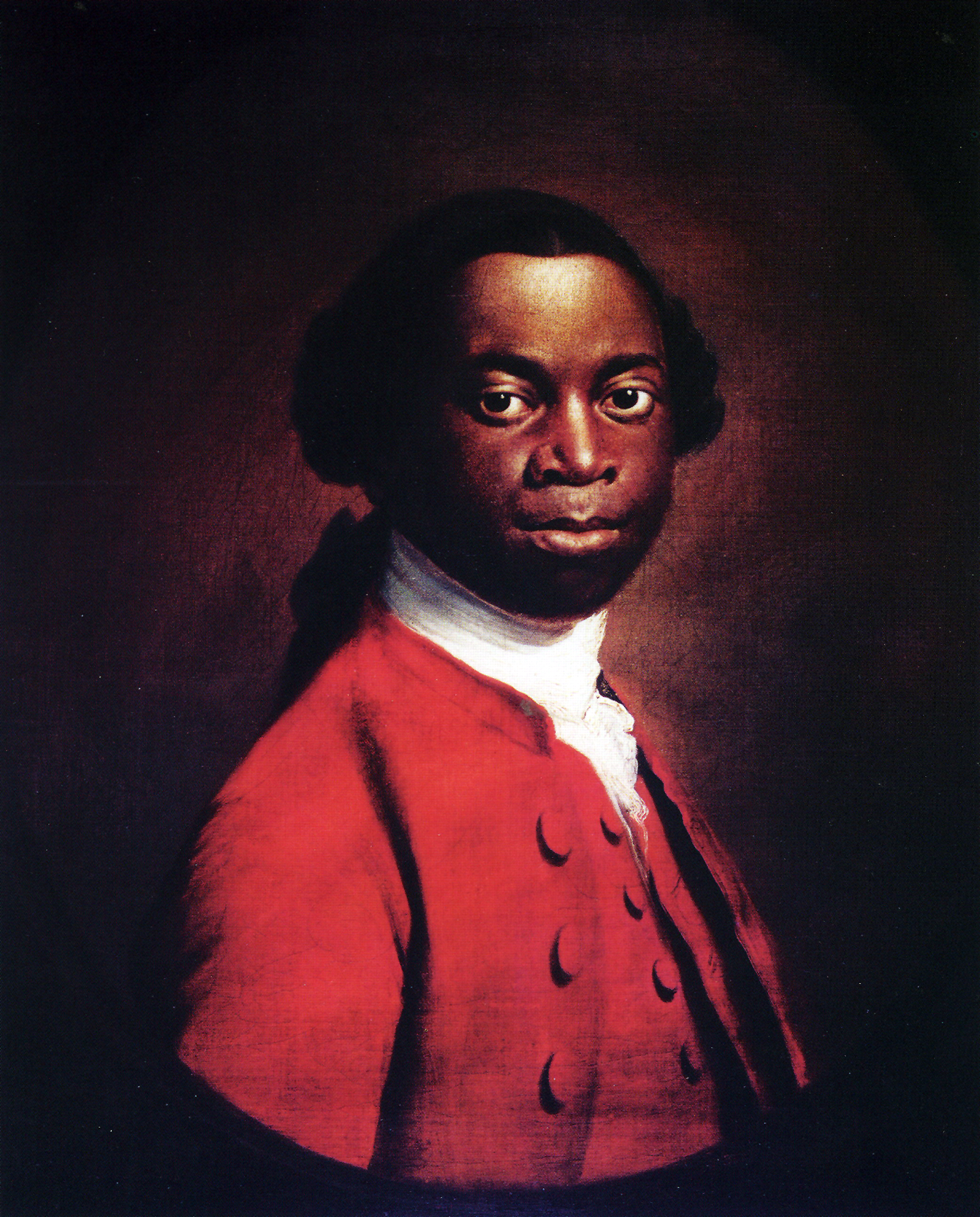 Olaudah Equiano, was a former slave, seaman and merchant who wrote an autobiography depicting the horrors of slavery and lobbied parliament for its abolition. In his biography he records he was born in what is now Nigeria, kidnapped and sold into slavery as a child. He then endured the middle passag...