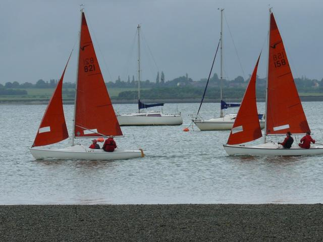 Sailing on the River Blackwater, Essex.