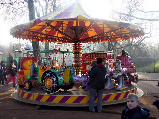 Picture taken at Hyde Park, December 2007,