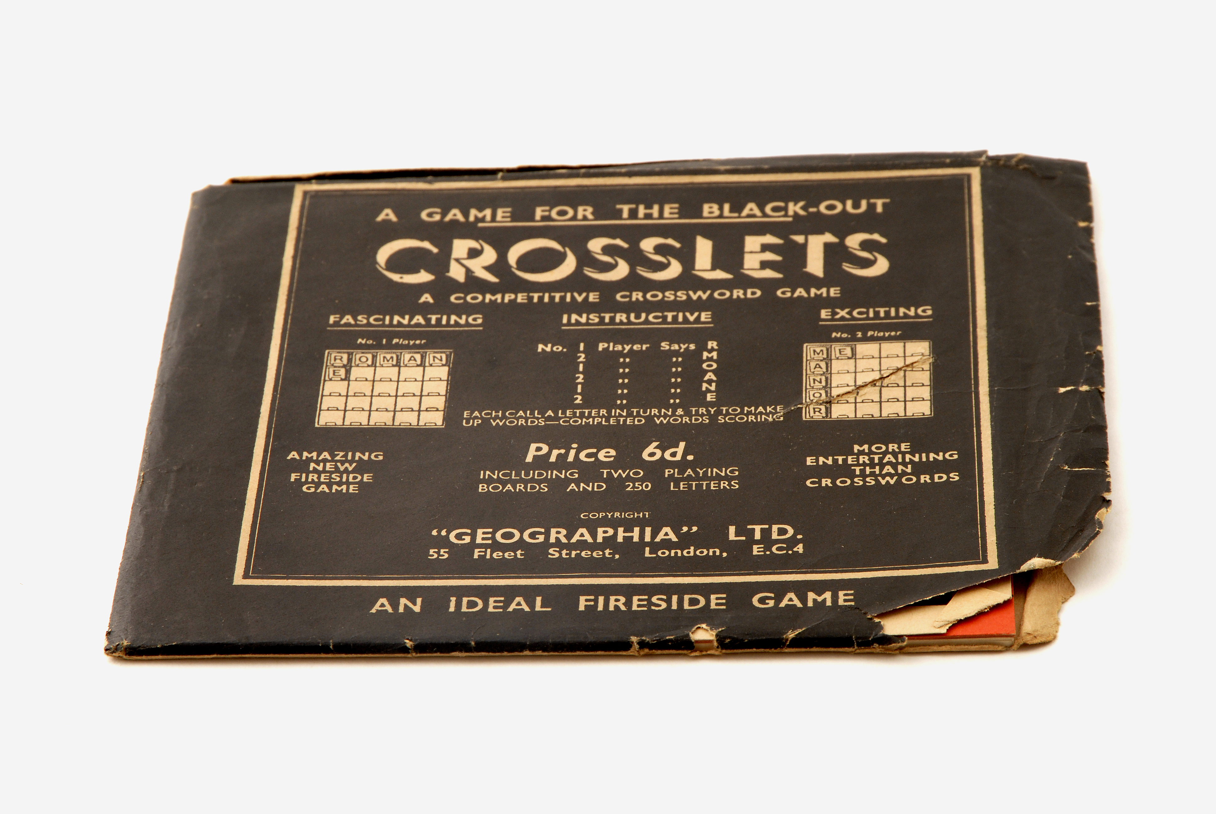 A crossword game.  