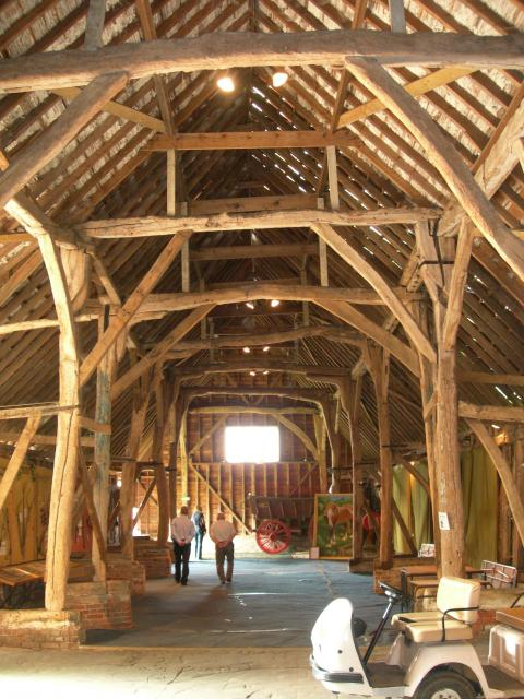 Abbot's Hall barn was built in the 13th Century to store the tithes that were paid to the Abbot of St Oysth by the people of Stowmarket and the surrounding villages. The Abbot's owned the land which the Museum stands until the dissolution of the monastaries by Henry VIII.