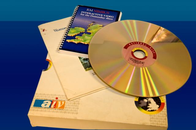 A multimedia edition of Domesday was compiled between 1984 and 1986 and published in 1986. It included a new 'survey' of the United Kingdom, in which people, mostly school children, wrote about geography, history or social issues in their local area or just about their daily lives. This was linked w...
