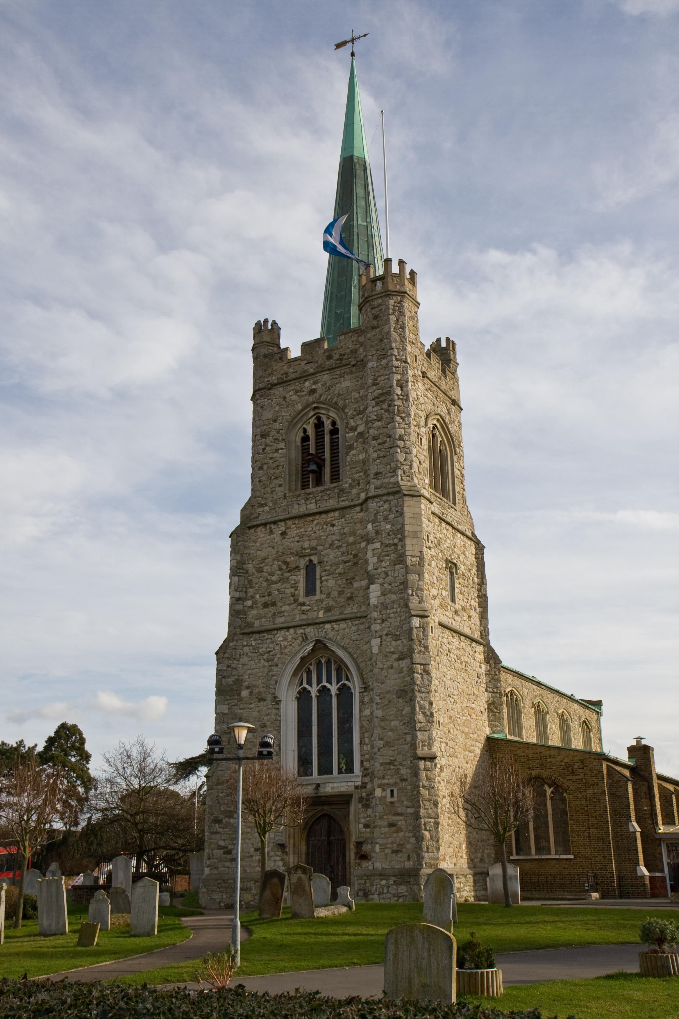 St Andrew S Is The Parish Church Of Hornchurch It Listed As A Grade 1
