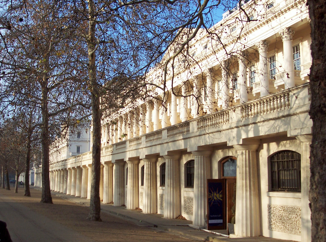 London the mall and buckingham palace nen gallery for 18 carlton house terrace