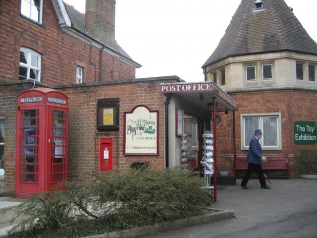 This was the Victorian dairy and ice house. It is now the Post Office and Toy Exhibition.