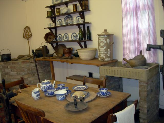 Victorian Kitchen Demonstration Photograph