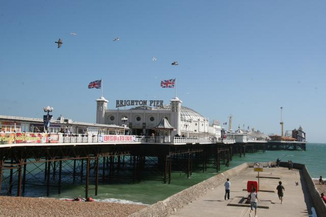 Generally known as the Palace Pier for short it was informally renamed Brighton Pier in 2000