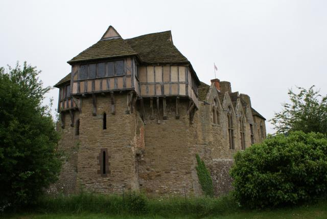 Stokesay Castle near Craven Arms, Shropshire