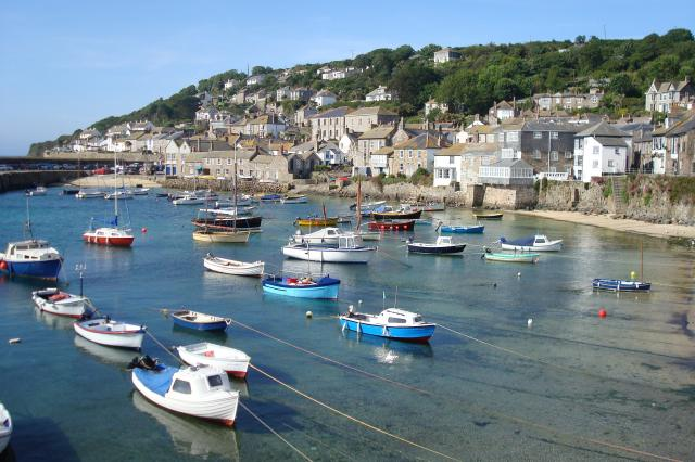 Cornwall is a popular destination for families taking a holiday in the summer. Mousehole is a village and fishing port near Newlyn in Cornwall,and is said to be one of the most beautiful harbours in the country.