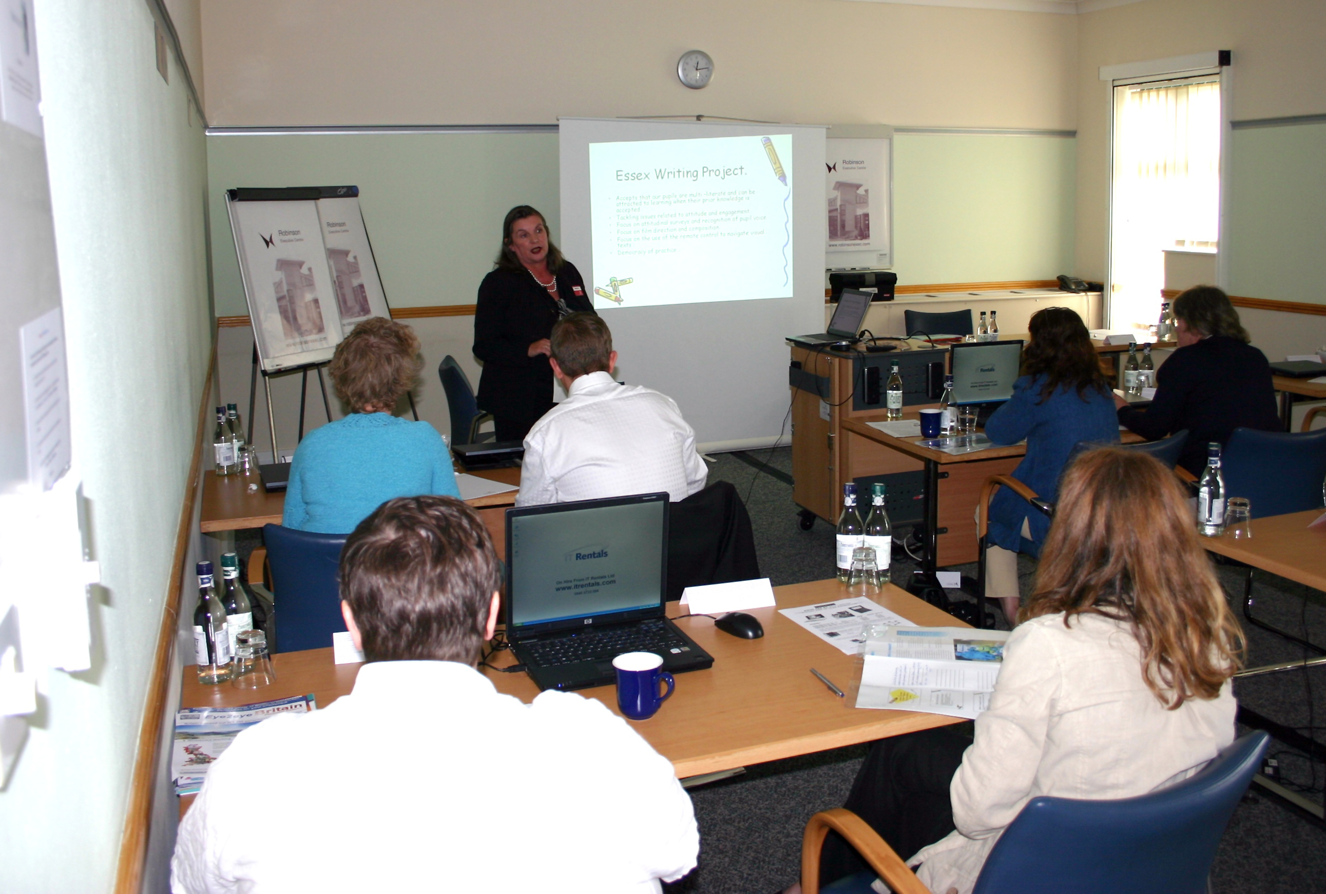 Picture taken at the E2BN Conference June 24th 2008.