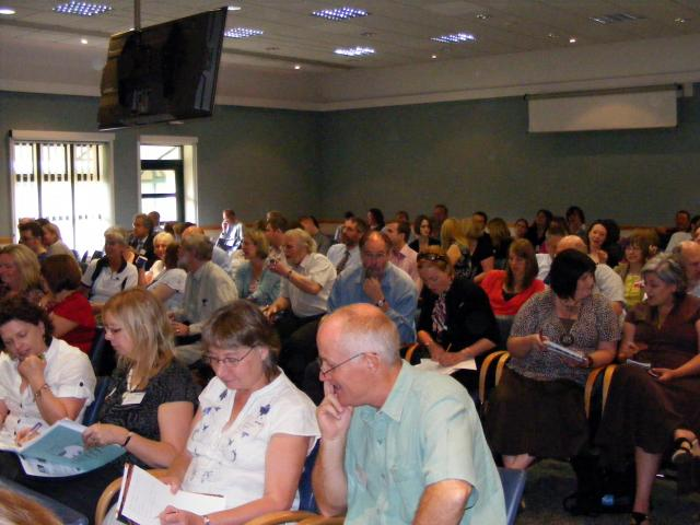 Picture taken at the E2BN Conference June 25th 2008.