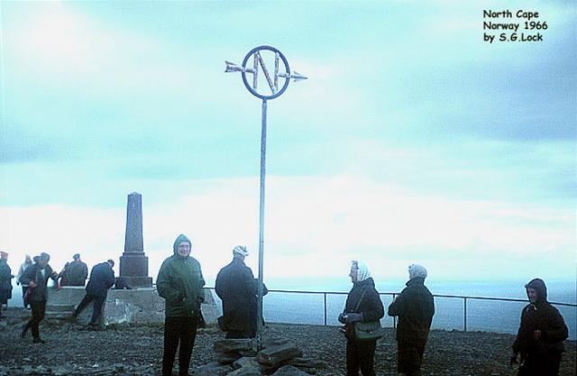 North Cape (just over 2102 km from the North Pole)