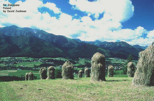 Haystacks near Zakopane