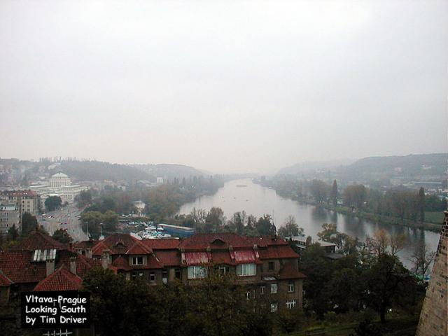 River Vltava, Prague - looking south