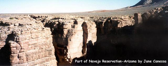 Part of Navajo reservation, Arizona