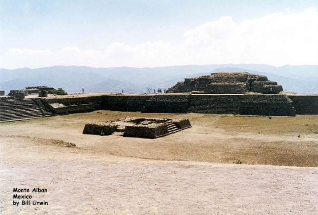 Monte Alban, ancient capital of the Zapotecs
