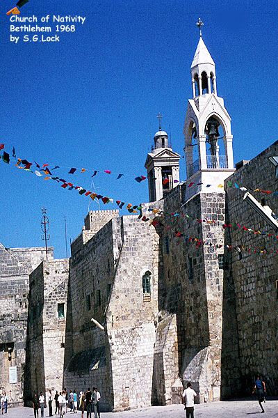 Church of Nativity, Bethlehem, 1968