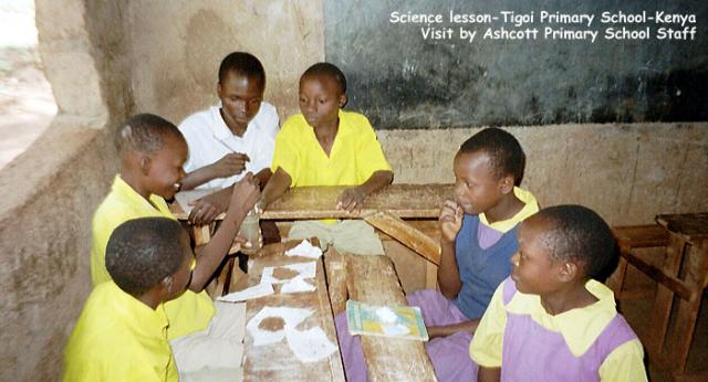 Science lesson, Tigoi Primary School, Kenya