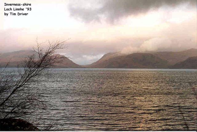 Loch Linnhe, Inverness-shire, Scotland