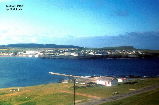 View across the bay, Ireland, 1965