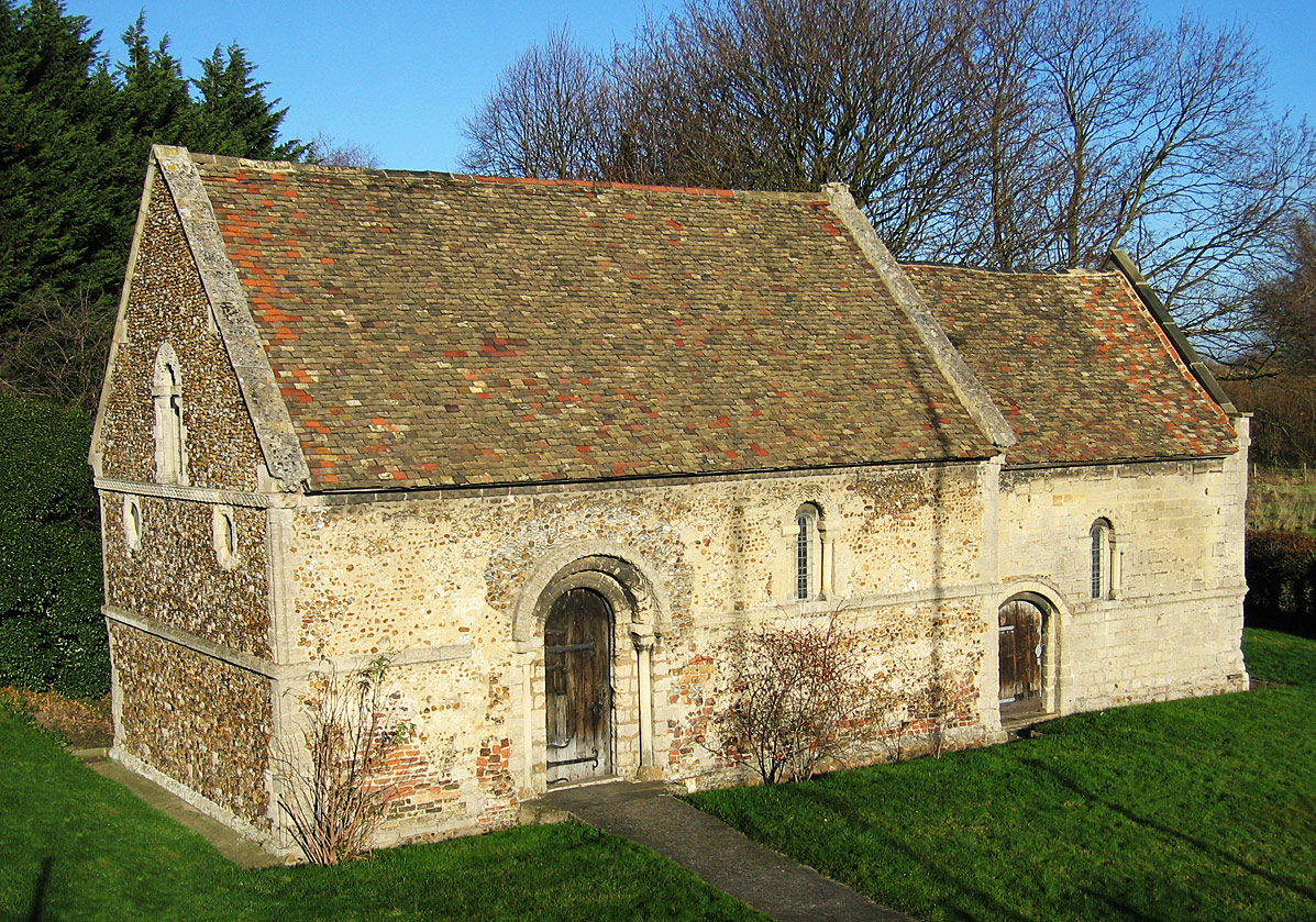This chapel dates from the 12th century and is reputedly the oldest building in Cambridge. It was built originally as the chapel of an isolation hospital for lepers. Keeping lepers away from others was the only treatment. Sometimes the monks that looked after them also contracted the disease.