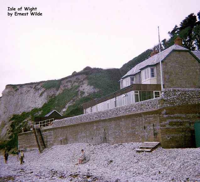 Beachside cottages, Isle of Wight (1960s)