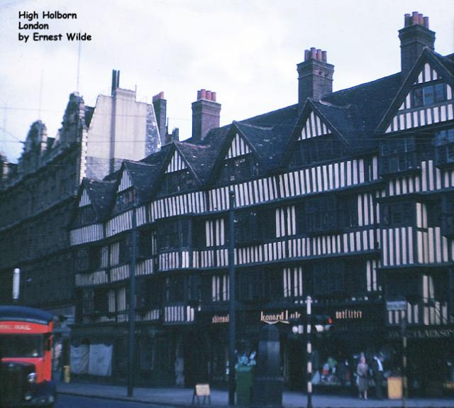 High Holborn, London (photographed in the 1960s)