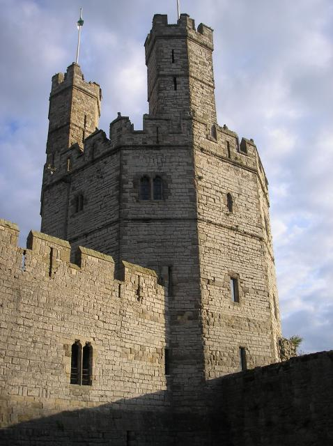 Standing at the mouth of the Seiont river, Caernarfon Castle is  the most famous of Wales's castles. Its sheer scale  sets it apart from the rest. It was built by the English King, Edward I.