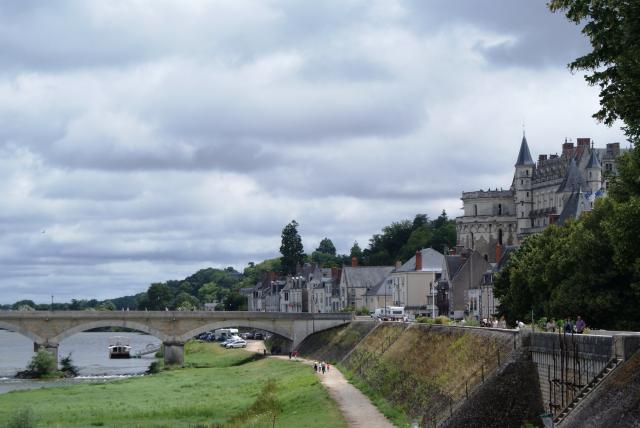 Amboise on the Loire in 'region centre' in France