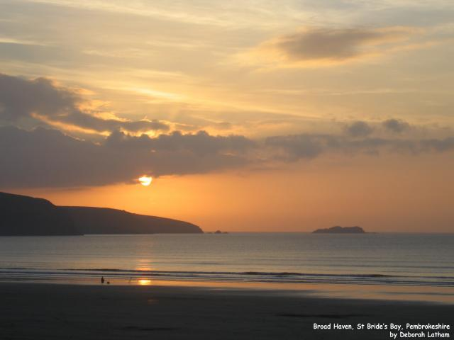 Broad Haven, St Bride's Bay, Pembrokeshire