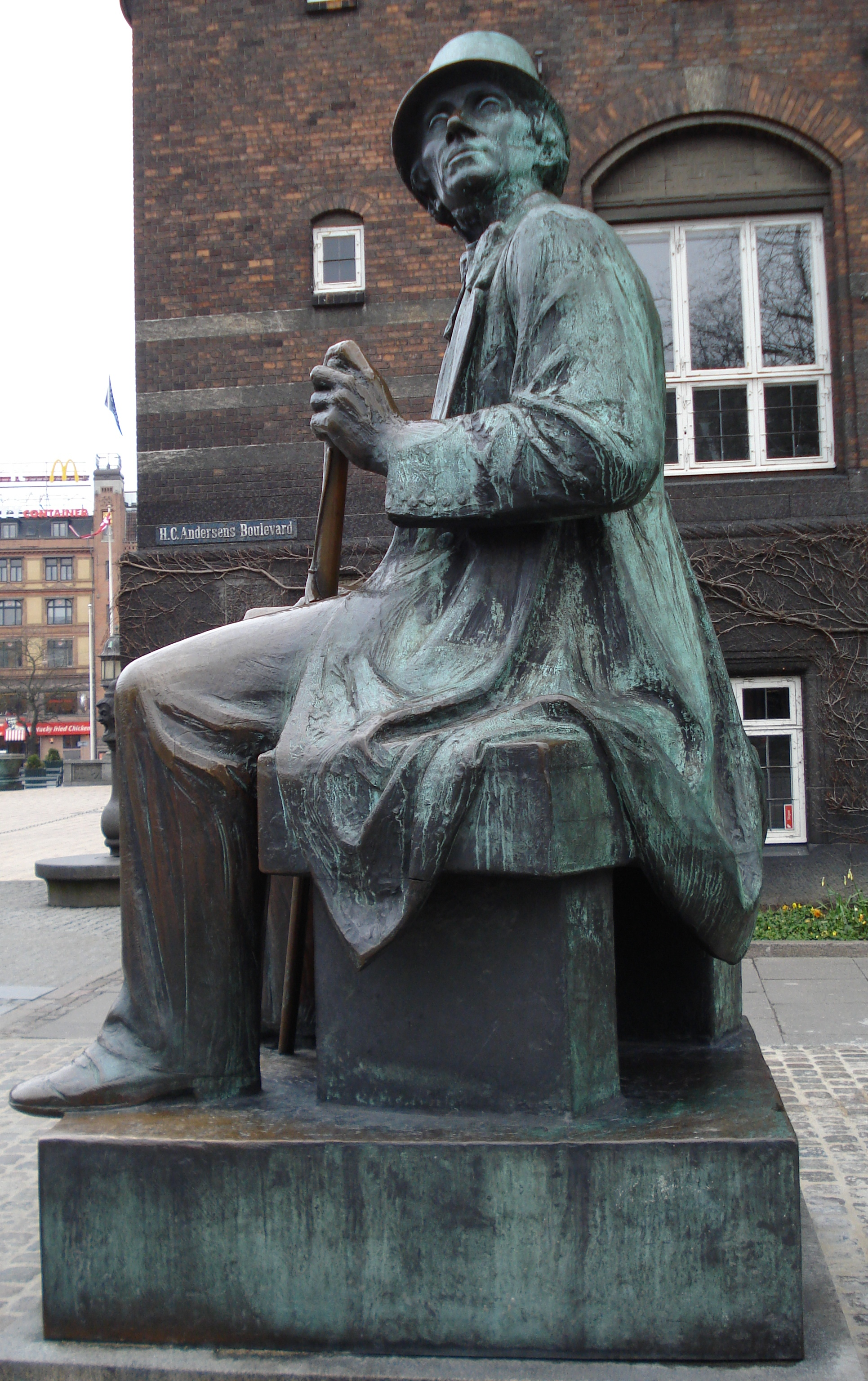 Hans Christian Andersen Statue Nen Gallery