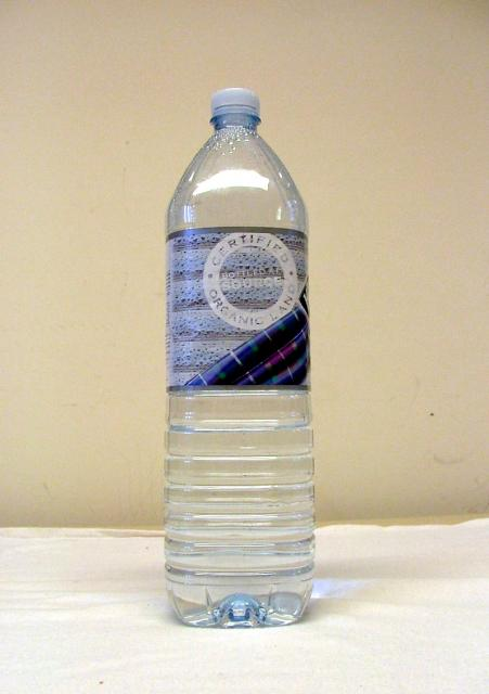 Modern plastic water bottle - 21st century