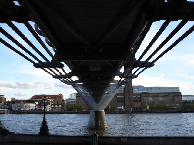 Underneath the Millennium Bridge: NEN Gallery