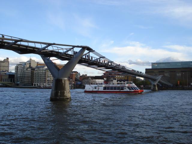 The Millennium Bridge: NEN Gallery