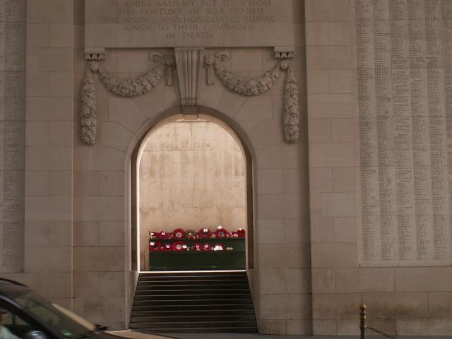 The Menin Gate Memorial is the most visited Great War Memorial on the Western Front.