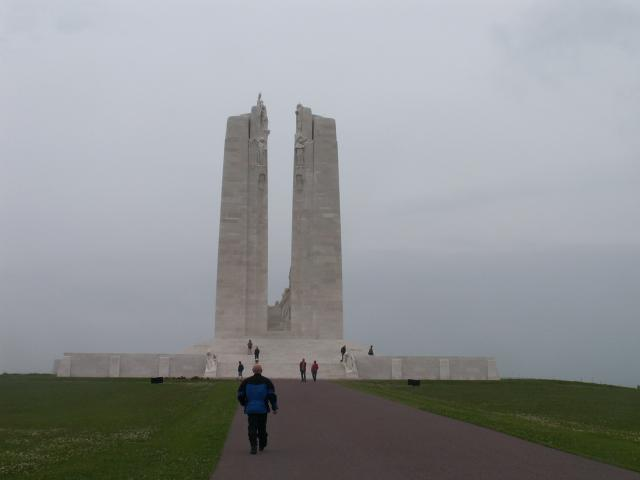 The Vimy Memorial is one of eight Canadian First World War memorials in Europe. It was constructed as the national memorial in tribute of the 66,000 Canadian war dead, including 11,285 with no known grave in France. Inscribed on the ramparts of the memorial are the names of the Canadian soldiers who...