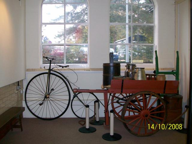 View of gallery display