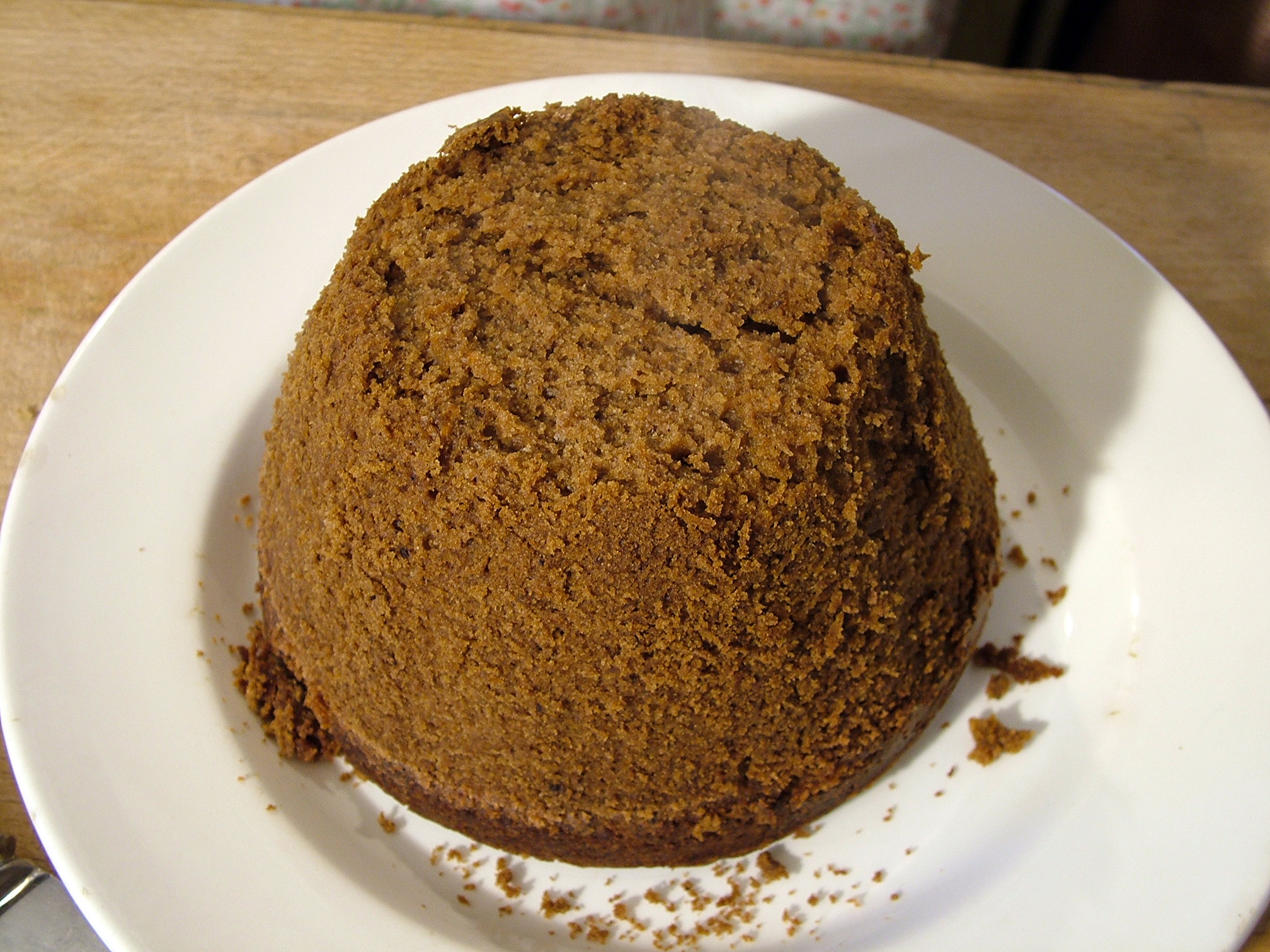 Steamed Chocolate Pudding.JPG: