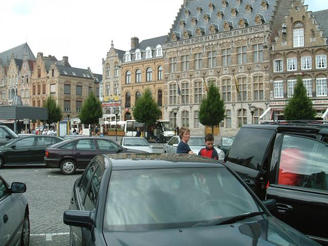Ypres Cathedral as it looked in 2002