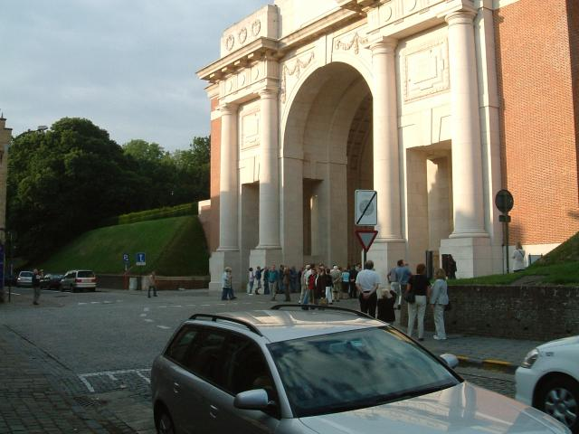 Menin Gate First World War memorial