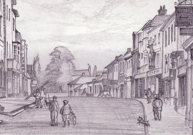 This was the backbone of the original Saxon settlement, but not recorded as 'Northe Streate' until the 13th century. This street has been party to more of the town's history than any other local thoroughfare: kings, queens, the famous and infamous have all passed through it, as have armies, processi...