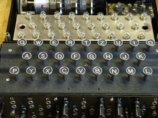 who created the enigma machine