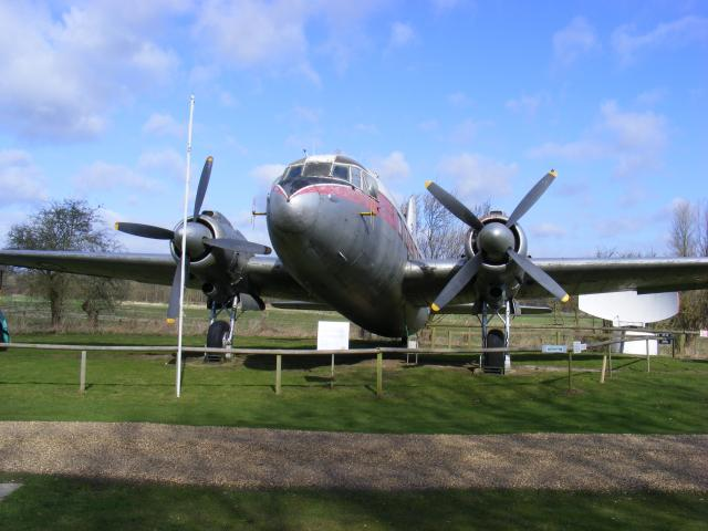 The Vickers Valetta C2 was a twin engined VIP transport for the RAF. It is one of two left in existence.