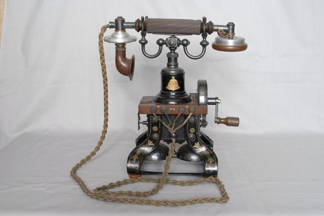 Early telephone from the Museum collection